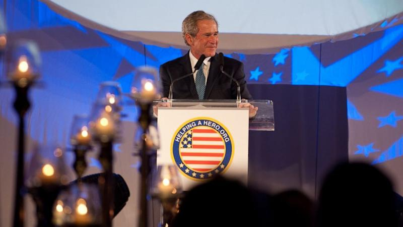 To Help US Veterans Charity, George W. Bush Charged $100,000