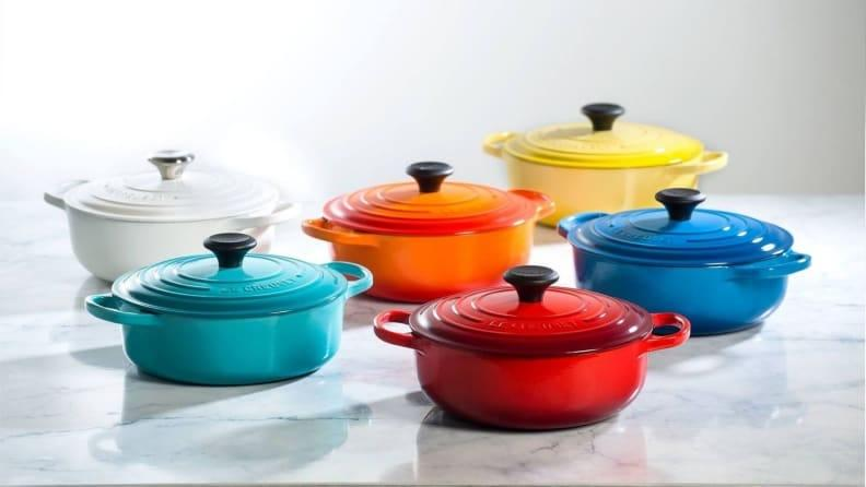 Available in a ton of gorgeous colors, Le Creuset Dutch ovens are an incredible purchase.