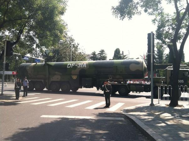 Dongfeng 31A missile