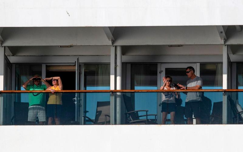 More than 130 people aboard the Zaandam have reported flu-like symptoms - LUIS ACOSTA/AFP via Getty Images