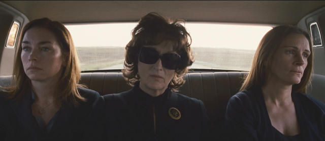 Julianne Nicholson, Meryl Streep, and Julia Roberts in 'August: Osage County'