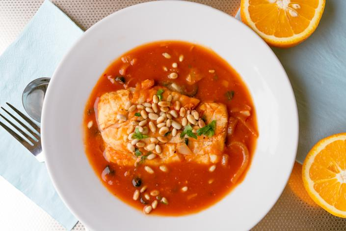 Provencal fish stew (Andrew Bowden-Smith)