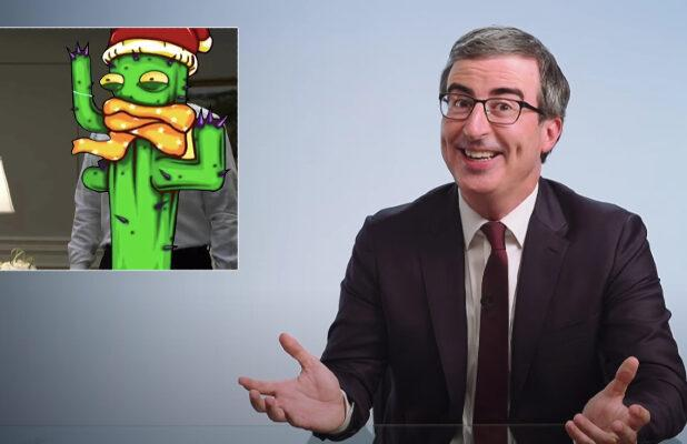 John Oliver Applies Chinese Anti-Muslim Censorship Tactics to 'House of Cards' (Video)