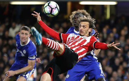 Britain Football Soccer - Chelsea v Southampton - Premier League - Stamford Bridge - 25/4/17 Southampton's Manolo Gabbiadini in action Reuters / Stefan Wermuth Livepic