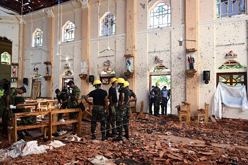 etectives said the back-pack bombs used in the April 21 attacks on three churches and three hotels were manufactured by local jihadists with Islamic State expertise