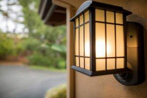 Kuna Light Fixture Is First Home Safety Solution for Break-In Prevention