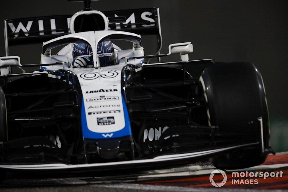 "George Russell, Williams FW43<span class=""copyright"">Zak Mauger / Motorsport Images</span>"