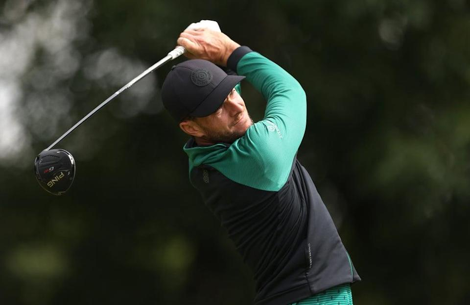 England's Laurie Canter set the halfway target in the BMW PGA Championship at Wentworth (Steven Paston/PA) (PA Wire)