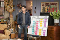 """This image provided by HBO Max shows David Schwimmer in a scene from the """"Friends"""" reunion special. (Terence Patrick/HBO Max via AP)"""