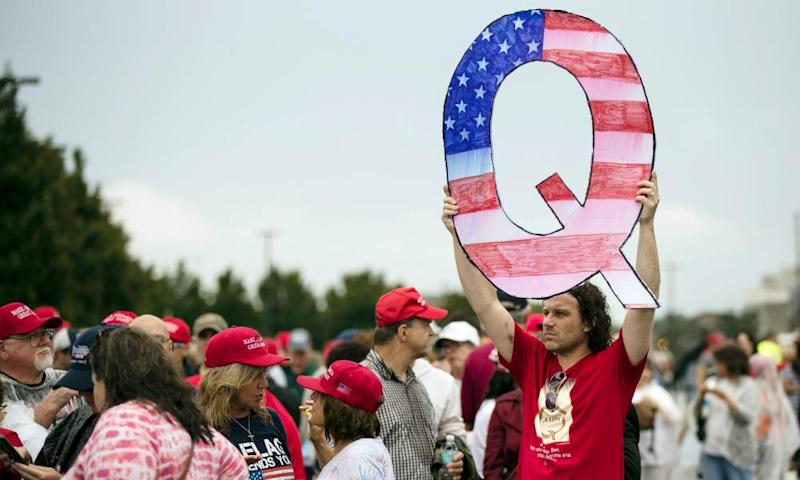 QAnon is a baseless internet theory that has gained ground during the uncertainty of the coronavirus pandemic.