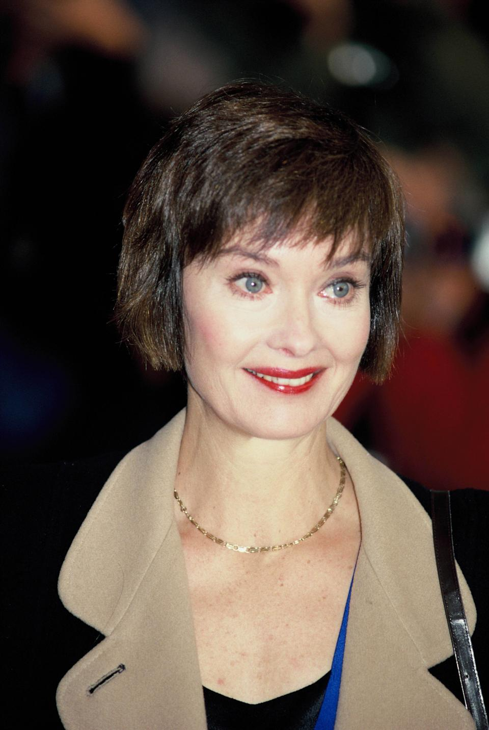 English actress Nicola Pagett in 1990 ca. in London, England.  (Photo by Georges De Keerle/Getty Images)
