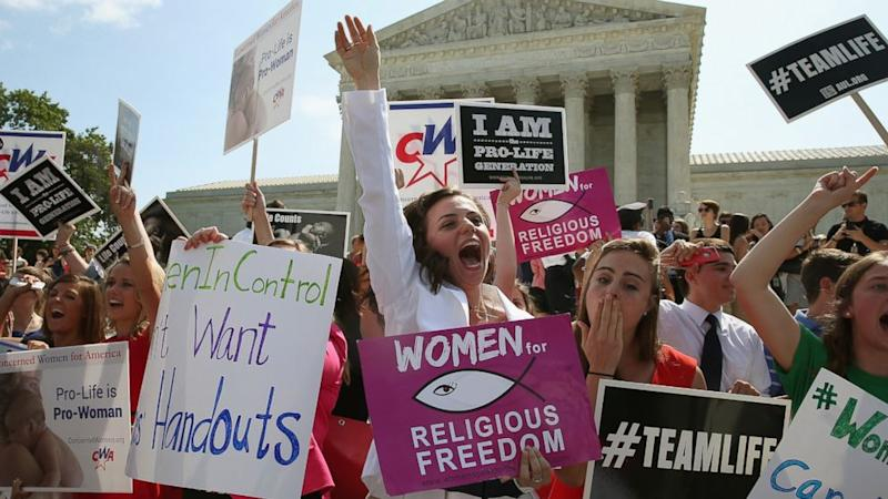 Hobby Lobby Wins Contraceptive Ruling in Supreme Court