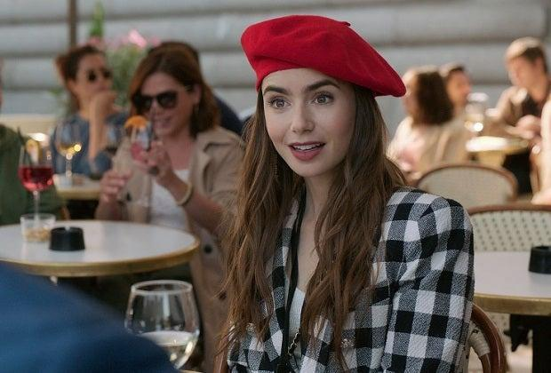 Lily Collins in Emily in Paris (COURTESY OF NETFLIX)