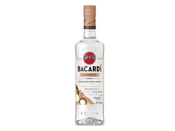 Feel like you're on holiday, even if you're just in your back garden, with a serving of this white rum (Asda)