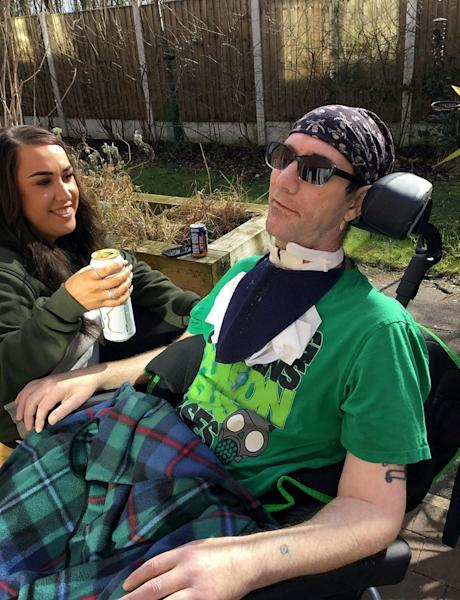 Dad Completely Paralyzed After Stroke Triggers Syndrome