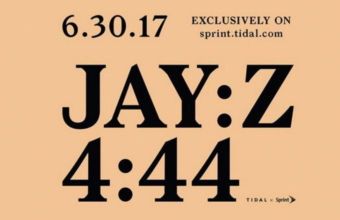 Non-tidal subscribers can now download jay-z's '4:44' for free.