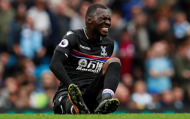 Crystal Palace have suffered a significant blow in their battle to avoid relegation, with striker Christian Benteke ruled out for at least six weeks with a knee injury.