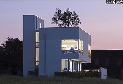 """<b>Urban Villa </b> <br> <a href=""""http://homes.yahoo.com/Ohio/Cleveland/1287-w-54th-st:2f834d51ff9975793cc5c76a04f7e51a"""" data-ylk=""""slk:1287 W 54th St, Cleveland, OH"""" class=""""link rapid-noclick-resp""""> 1287 W 54th St, Cleveland, OH </a> <br> For sale: $1.25 million <br><br> This modern home is one of three units making up the King's Hill residences in Cleveland. This monolithic home, the C-House, is nestled into the hillside on a nearly quarter-acre lot. Measuring 3,782 square feet, the home has 3 bedrooms and 4 baths.<br><br><b>Also on Zillow Blog:</b><br><br>• <a href=""""http://bit.ly/YVhdwS"""" rel=""""nofollow noopener"""" target=""""_blank"""" data-ylk=""""slk:A whimsical artist refuge in Austin"""" class=""""link rapid-noclick-resp"""">A whimsical artist refuge in Austin</a><br>• <span>Modern pad on """"Modern Family"""" has turntable driveway</span><br>• <a href=""""http://bit.ly/YVhwrk"""" rel=""""nofollow noopener"""" target=""""_blank"""" data-ylk=""""slk:Elaborate Graystone Manor created by Disney designer"""" class=""""link rapid-noclick-resp"""">Elaborate Graystone Manor created by Disney designer</a>"""