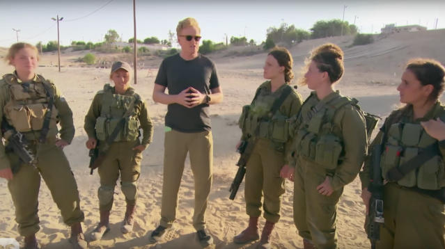 Conan O'Brien recently took a trip to Israel to see the country, to meet the people and, of course, to make an ass of himself in the name of culture exposure.