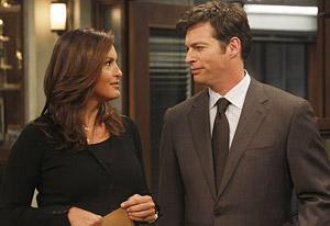 Mariska Hargitay and Harry Connick Jr. | Photo Credits: NBC