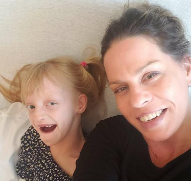 Heather Langley says her daughter, Lucy, needs constant support to learn. (Submitted by Heather Langley - image credit)