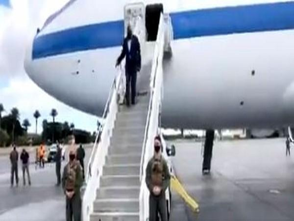 US Secretary of Defence Lloyd J Austin arrives at the US Indo-Pacific Command headquarters in Hawaii (Twitter)