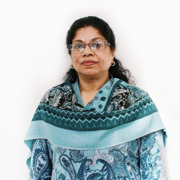 The co-ordinator of Montreal's South Asian Women's Community Centre, Ghazala Munawar, says education and translation of resources into people's languages of origin are key to preventing further violence against women in Montreal. (Submitted by the South Asian Women's Community Centre - image credit)