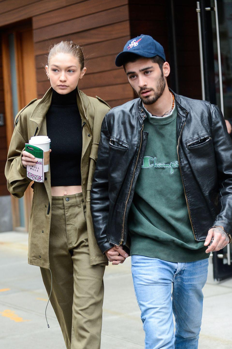 """<p>In 2018, Zayn confirmed <a href=""""https://onairwithryan.iheart.com/featured/ryan-seacrest/content/2018-04-12-zayn-confirms-second-studio-album-talks-gigi-hadid-split-listen/"""" rel=""""nofollow noopener"""" target=""""_blank"""" data-ylk=""""slk:in an interview with Ryan Seacrest"""" class=""""link rapid-noclick-resp"""">in an interview with Ryan Seacrest</a> that """"Let Me"""" is about <a href=""""https://www.goodhousekeeping.com/life/entertainment/a32307448/gigi-hadid-pregnant-zayn-malik-baby/"""" rel=""""nofollow noopener"""" target=""""_blank"""" data-ylk=""""slk:Gigi Hadid"""" class=""""link rapid-noclick-resp"""">Gigi Hadid</a>. Though they were broken up at the time, they're now back together and <a href=""""https://www.elle.com/culture/celebrities/a32307042/gigi-hadid-pregnant-zayn-malik-baby/"""" rel=""""nofollow noopener"""" target=""""_blank"""" data-ylk=""""slk:expecting a baby together later this year"""" class=""""link rapid-noclick-resp"""">expecting a baby together later this year</a>. </p>"""