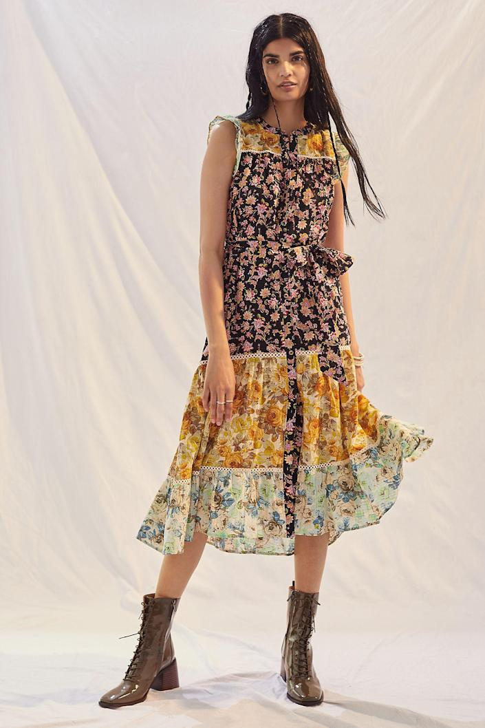 """<h2>Anthropologie Ruffled Floral Maxi Dress</h2><br><strong><em>The Made-For-Frolicking Frock</em></strong><br><br>Florals, ruffles, and a billowing silhouette are just about everything you need to make those <a href=""""https://www.refinery29.com/en-us/2020/11/10173526/fashion-trends-2020-cottagecore-loungewear"""" rel=""""nofollow noopener"""" target=""""_blank"""" data-ylk=""""slk:cottagecore closet"""" class=""""link rapid-noclick-resp"""">cottagecore closet</a> dreams come true this fall. <br><br><strong>The Hype: </strong>5 out of 5 stars; 7 reviews on Anthropologie.com<br><br><strong>What They're Saying</strong>: """"I love this. It's [true to size]. I bought the blue boots featured in the pic [on Anthropologie's site] and I love the whole look. Will add a Jean jacket for cooler months. Adorable!"""" — Ashliemj, Anthropologie reviewer<br><br><em>Shop <strong><a href=""""https://www.anthropologie.com/shop/ruffled-floral-maxi-dress4"""" rel=""""nofollow noopener"""" target=""""_blank"""" data-ylk=""""slk:Anthropologie"""" class=""""link rapid-noclick-resp"""">Anthropologie</a></strong></em><br><br><strong>Anthropologie</strong> Ruffled Floral Maxi Dress, $, available at <a href=""""https://go.skimresources.com/?id=30283X879131&url=https%3A%2F%2Fwww.anthropologie.com%2Fshop%2Fruffled-floral-maxi-dress4"""" rel=""""nofollow noopener"""" target=""""_blank"""" data-ylk=""""slk:Anthropologie"""" class=""""link rapid-noclick-resp"""">Anthropologie</a>"""