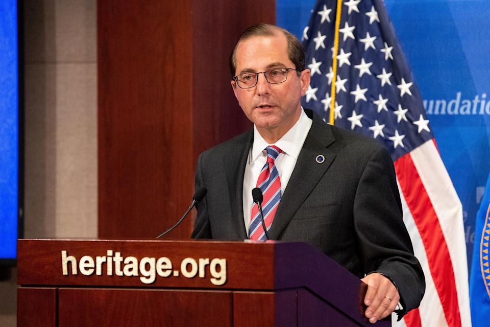 HHS Secretary Alex Azar has said short-term plans will offer new, more affordable options to people who are struggling to pay for insurance now. (Photo: SOPA Images via Getty Images)