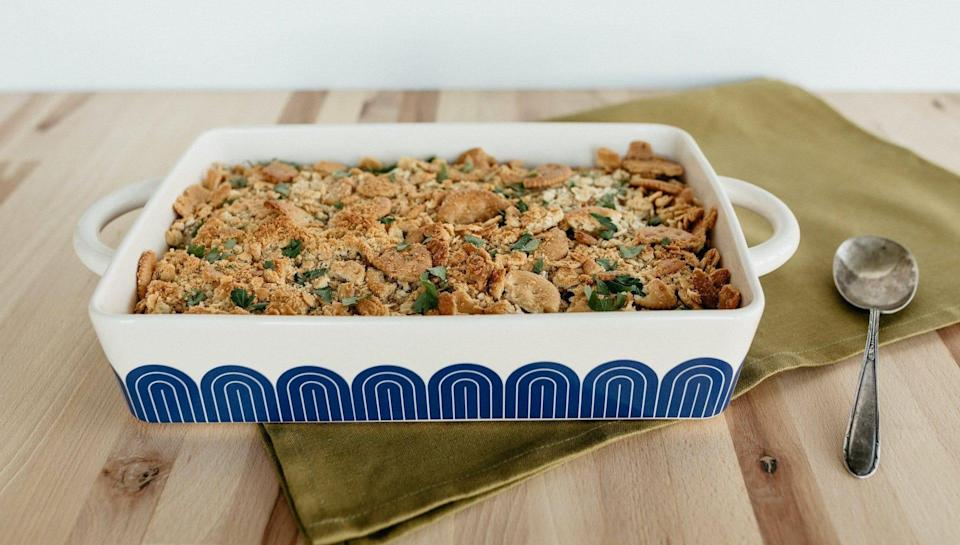There's no denying the Great Jones Hot Dish looks great in a kitchen.