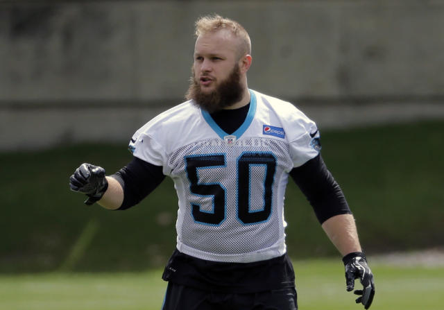 Ben Boulware went undrafted but is already getting noticed. (AP)