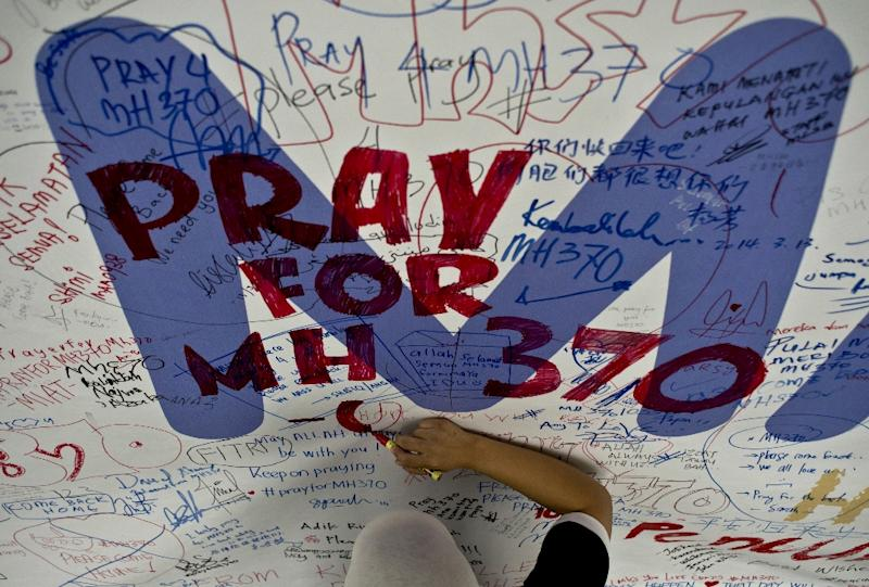 Malaysia Airlines flight MH370 disappeared while en route from Kuala Lumpur to Beijing in 2014 (AFP Photo/Manan Vatsyayana)
