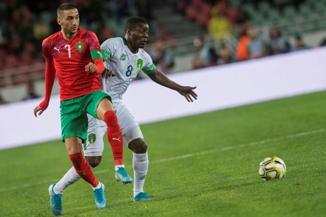 Ziyech was slated by many to become a Dutch international but he said his heart ruled he should play for the country of his parents birth Morocco (AFP Photo/FADEL SENNA)