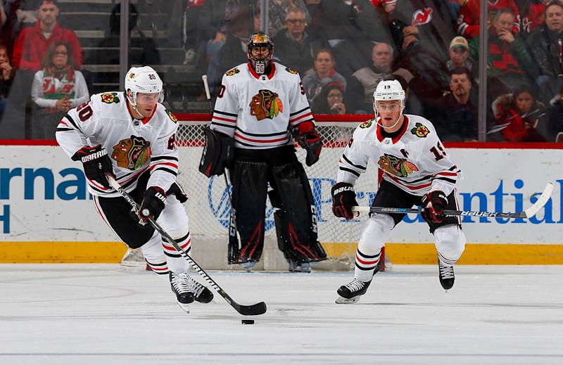 Blackhawks moving on from Corey Crawford, Brandon Saad signals clear youth movement