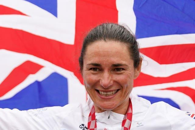 Dame Sarah Storey is Great Britain's most successful Paralympian