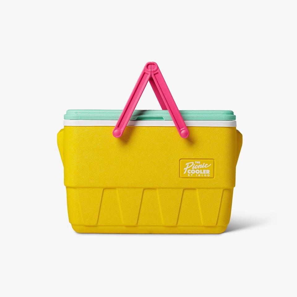 "<p><strong>igloo</strong></p><p>igloocoolers.com</p><p><strong>$49.99</strong></p><p><a href=""https://go.redirectingat.com?id=74968X1596630&url=https%3A%2F%2Fwww.igloocoolers.com%2Fcollections%2Fhard-coolers%2Fproducts%2Fretro-picnic-basket-cooler%3Fvariant%3D39316381663315&sref=https%3A%2F%2Fwww.thepioneerwoman.com%2Fhome-lifestyle%2Fg36266481%2Fbest-coolers%2F"" rel=""nofollow noopener"" target=""_blank"" data-ylk=""slk:Shop Now"" class=""link rapid-noclick-resp"">Shop Now</a></p><p>Along with Igloo's new retro collection, they're bringing back a cooler straight from the '90s. It's bright yellow color screams summer. We can't wait to bring this one to the beach. </p>"