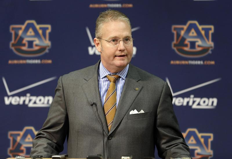 Auburn AD: 'There's no place for contentment'