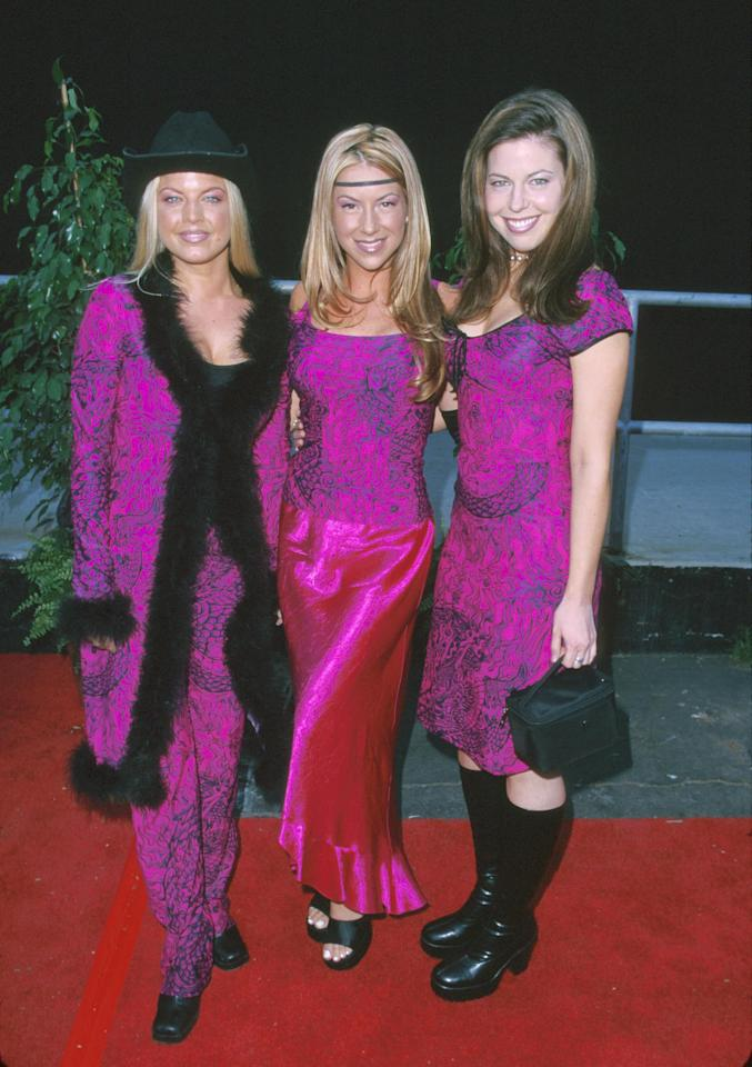 Stacy Ferguson (aka Fergie), Stefanie Ridel and Renee Sandstrom of Wild Orchid (Photo by SGranitz/WireImage)