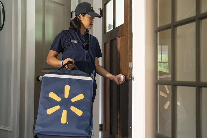 walmart will deliver groceries to your refrigerator by entering home inhome delivery