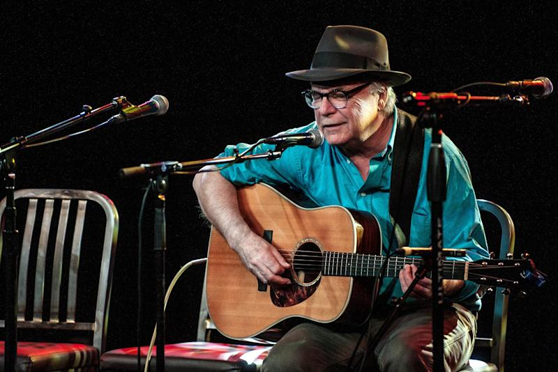 <strong>David Olney (1948 - 2020)</strong><br />Folk singer David Olney died on stage at the age of 71, during an appearance at the 30A Songwriters Festival.