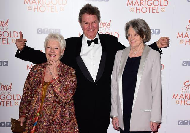The Second Best Exotic Marigold Hotel Premiere – London