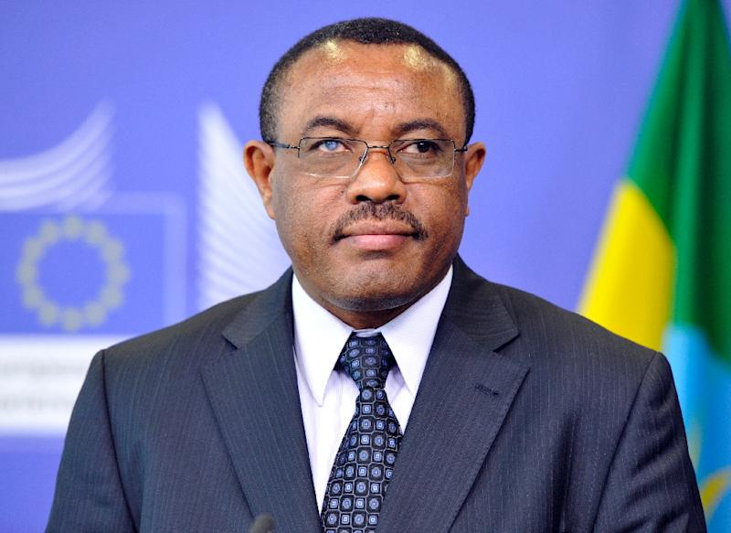Ethiopia Prime Minister Hailemariam Desalegn (pictured) is seen as all but certain to stay in office (AFP Photo/Georges Gobet)