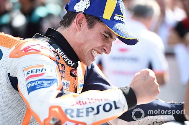 "Ganador Marc Márquez, Repsol Honda Team <span class=""copyright"">Gold and Goose / Motorsport Images</span>"