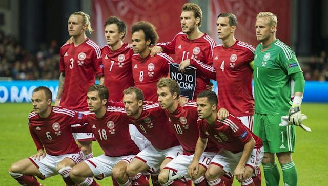 <p><strong>Highest FIFA Ranking:</strong> 3rd (May 1997, August 1997)</p> <p><strong>Current FIFA Ranking: </strong>51st</p> <br><p>International football cult heroes in the 1980s during the 'Danish Dynamite' era and later European champions against the odds in 1992, Denmark continued to punch above their weight well into the early 2000s with knockout round placings at several tournaments.</p> <br><p>A group stage exit in South Africa is their only World Cup showing since 2002, while the Danes were also knocked out of Euro 2012 early and didn't even make it to Euro 2016.</p>