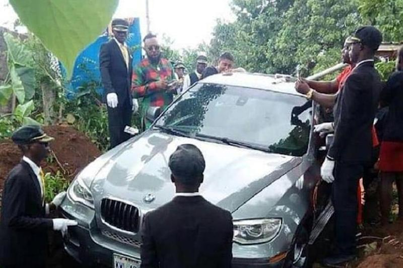 Son Ditches Coffin to Bury Father, Uses BMW Worth Rs 1.1 Crore Instead