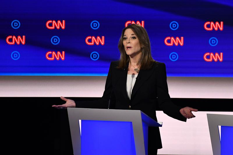 Best Antidepressant 2020 Marianne Williamson explains past comments regarding antidepressants