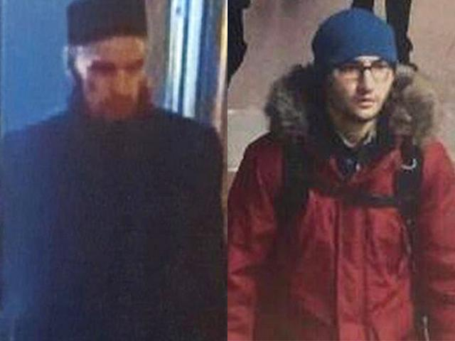 St Petersburg fake & real bombing suspects
