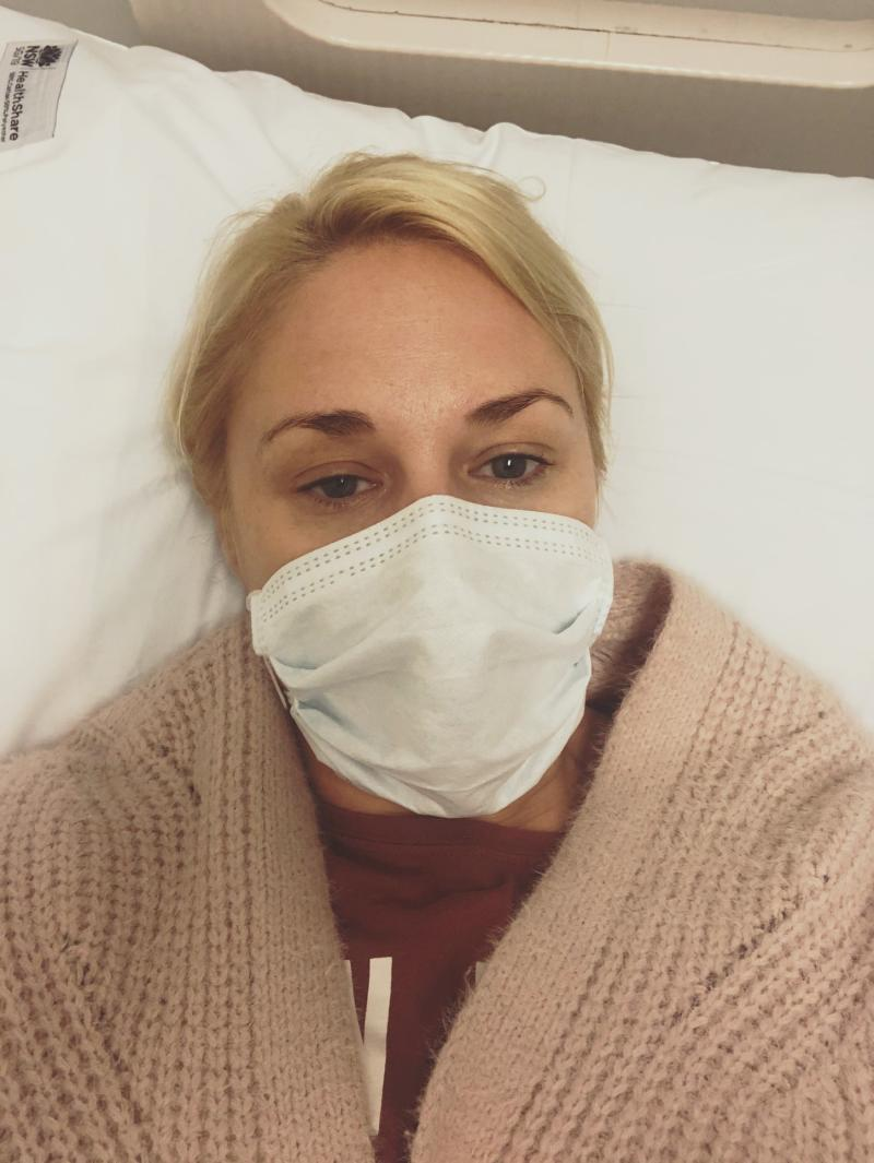 Amie Morris was struck down by coronavirus after going on a date with a man with a dry cough. Source: Facebook