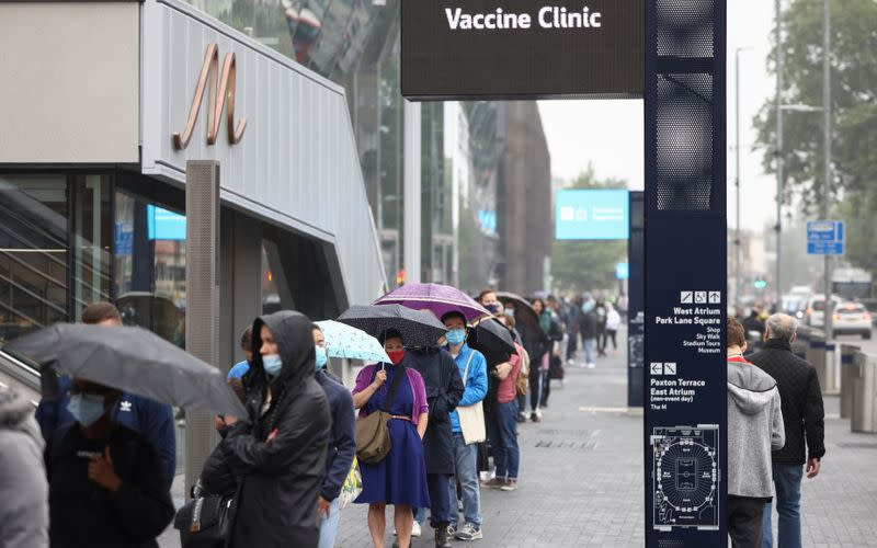 COVID-19 vaccinations in London